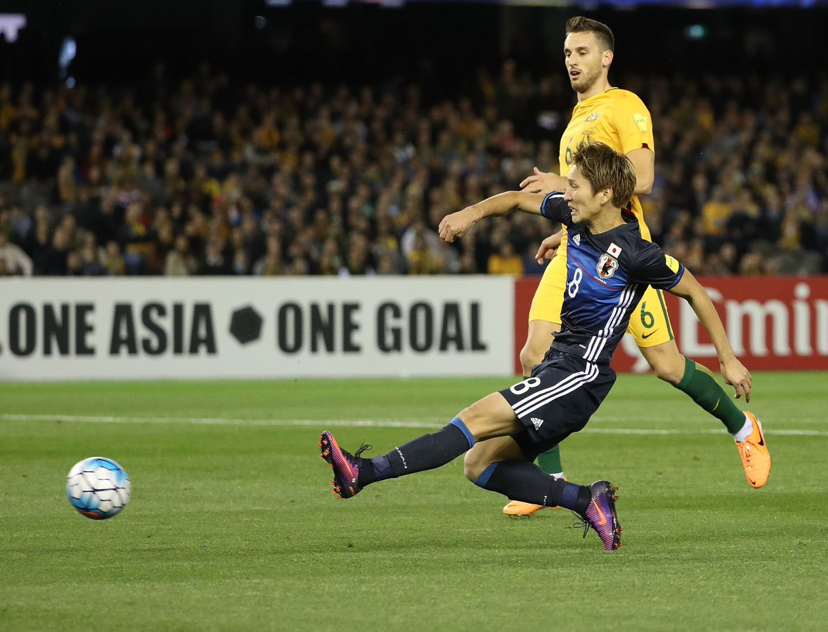 AUSTRALIA 1-1 JAPAN The Group B clash ends all square in Melbourne