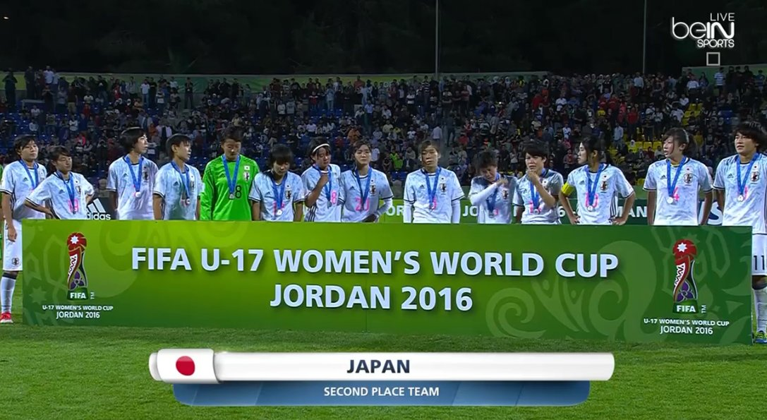 Gold for North Korea, silver for Japan and bronze for Spain! #U17WWC