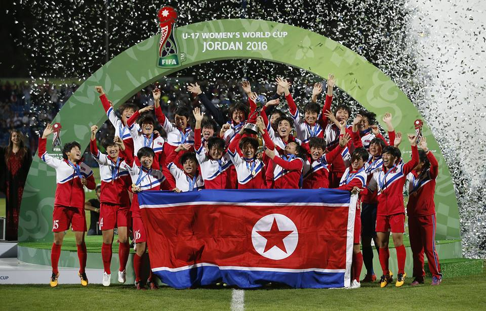 North Korea wins the Under 17 Womens World Cup