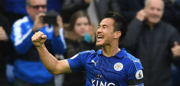 Leicester 3-1 Crystal Palace Musa, Okazaki and Fuchs star in win