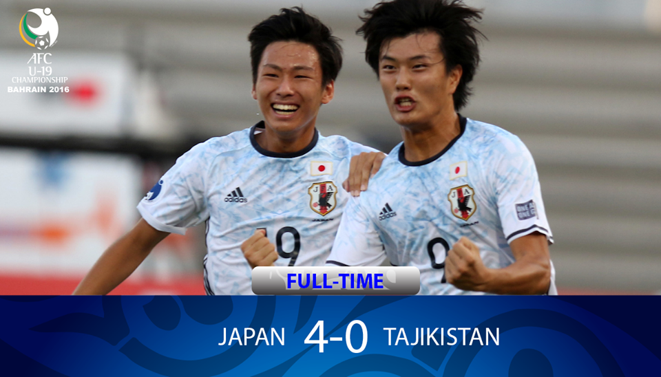 Japan 4-0 Tajikistan