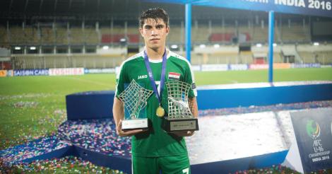 Mohammed Dawood mvp u16