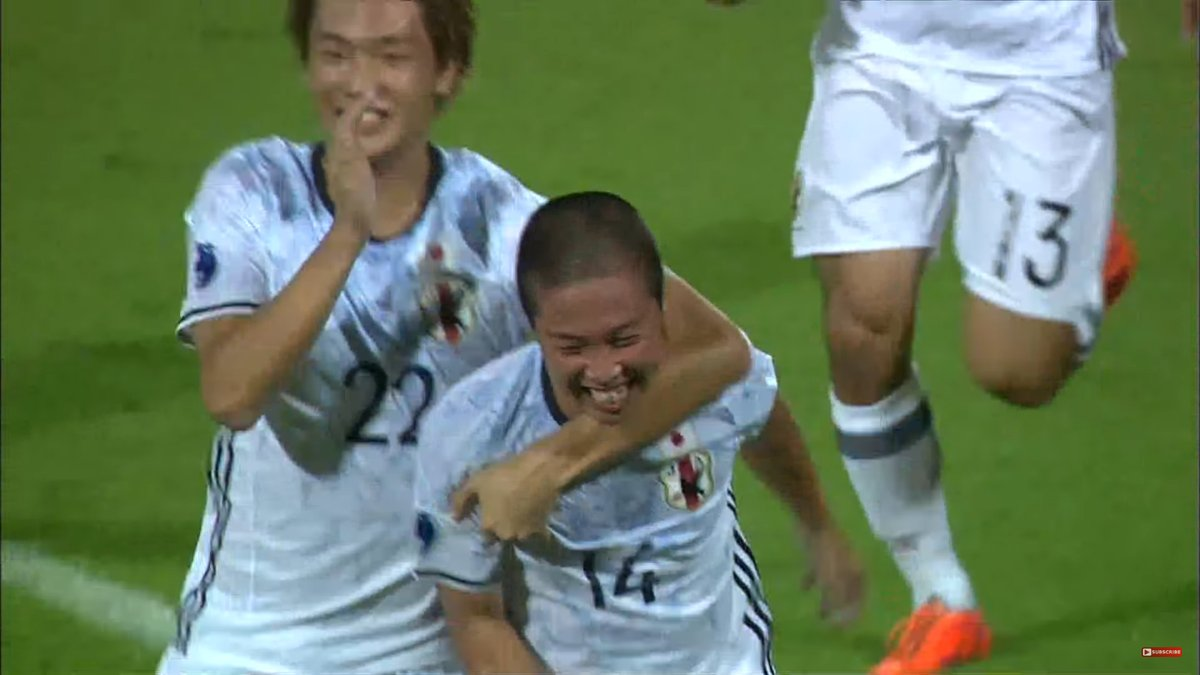 Strikers Kishimoto and Nakamura score as Japan have 2-goal lead at HT