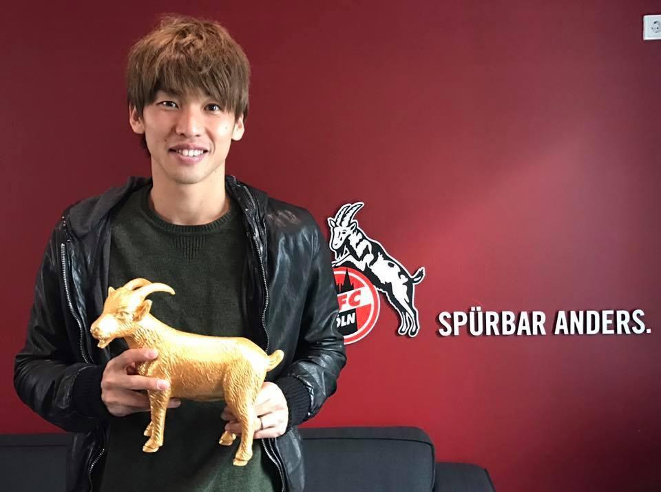 44,10 Prozent - Ihr habt Yuya #Osako zum #effzeh Spieler des Monats September gewählt