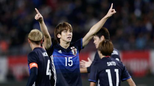Japan 4 Oman 0 Osako at the double in rout