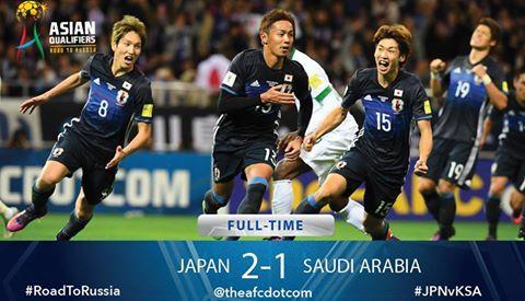 FT Japan 2 Saudi Arabia 1