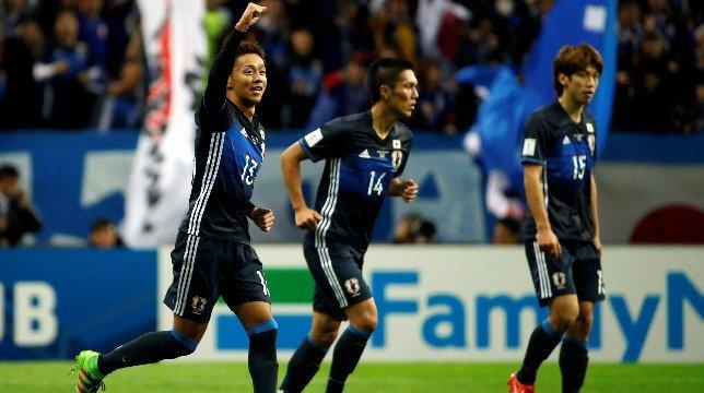 Kiyotake, participe en la victoria de su país Jugó 64 minutos con gol incluido de penalti en la victoria de Japón ante Arabia Saudí