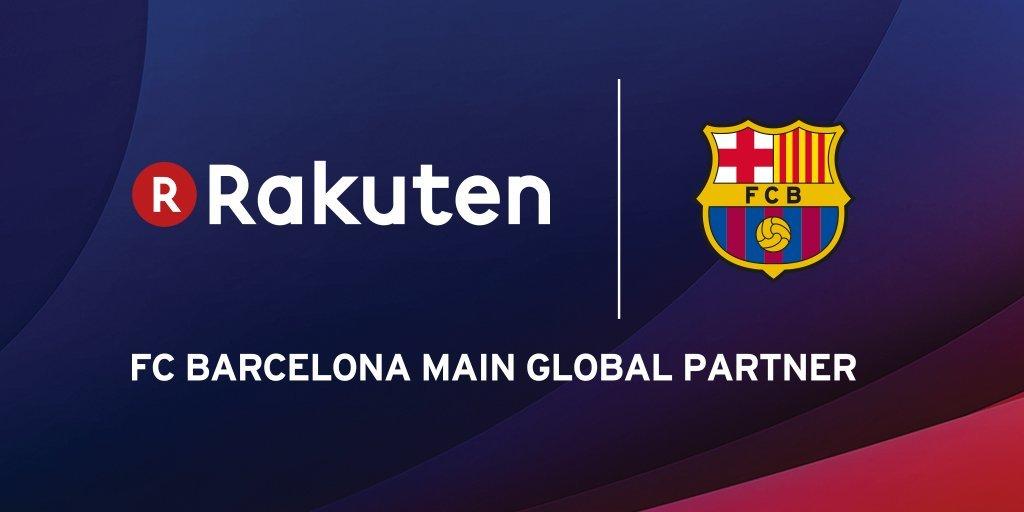Rakuten, nou patrocinador principal global del Barça a partir de la temporada 2017_18