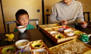 敷居の高い昼食