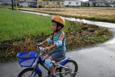 トシ君自転車