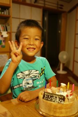 誕生日6歳