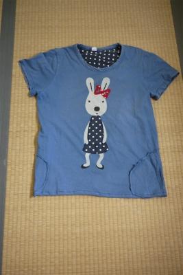 ロングTシャツ 縫う