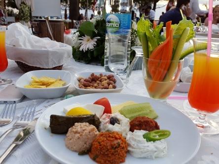 トルコで野菜スティックなんか初めて見たヨ