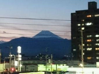 沼津からの富士山