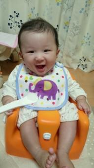 生後5ヶ月のピュアベビーこばぶ
