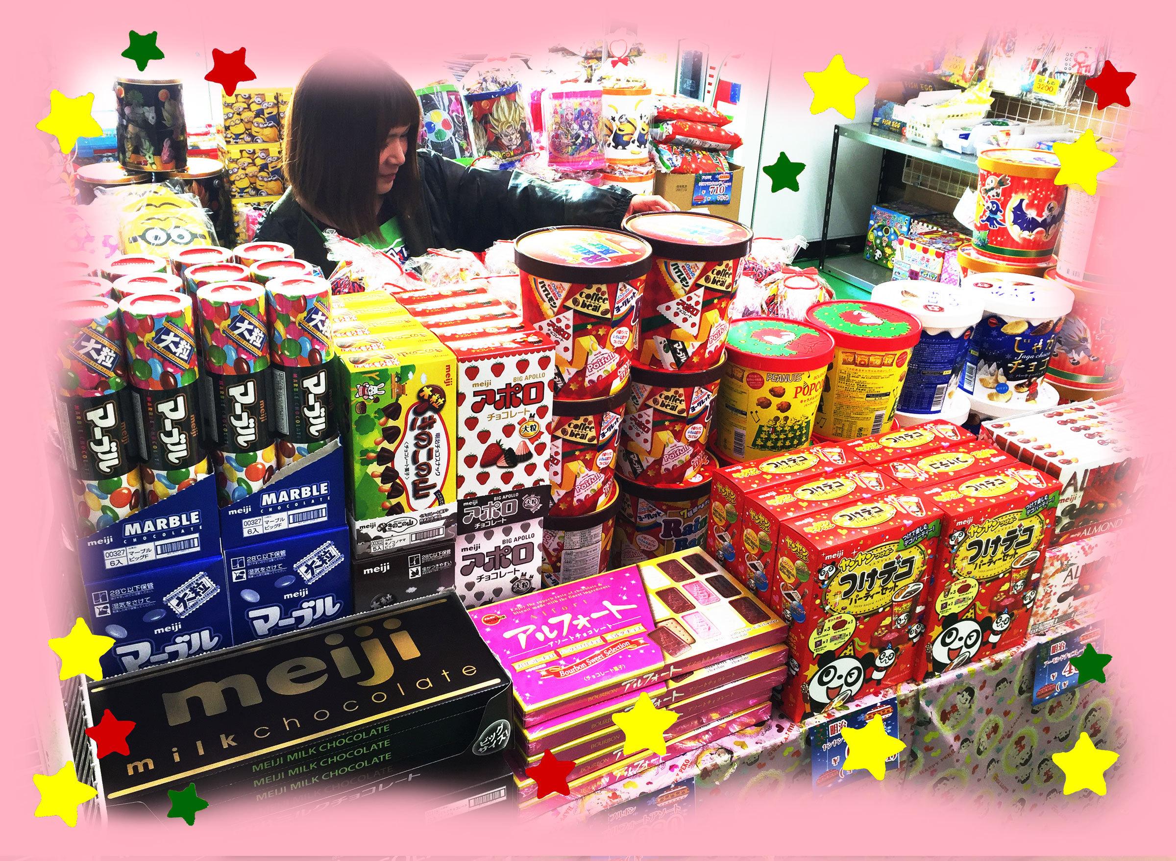 みんなのおかし市場福井店クリスマスコーナー