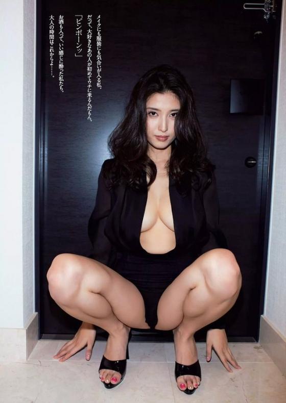 橋本マナミ 週プレの生活感溢れる下着グラビア 画像19枚 6