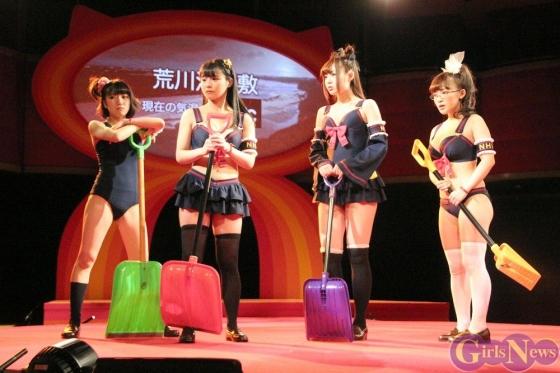 片岡沙耶 主演舞台熱いぞ!猫ヶ谷!!のGカップ水着姿 画像71枚 11