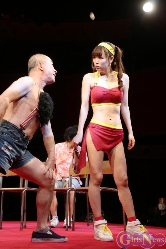 片岡沙耶 主演舞台熱いぞ!猫ヶ谷!!のGカップ水着姿 画像71枚 12