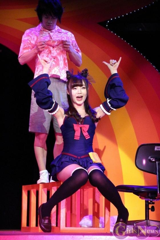 片岡沙耶 主演舞台熱いぞ!猫ヶ谷!!のGカップ水着姿 画像71枚 9