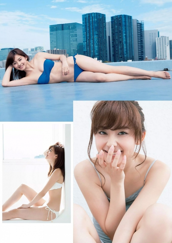朝比奈彩 Cカップ谷間水着姿を披露した週プレグラビア 画像36枚 11