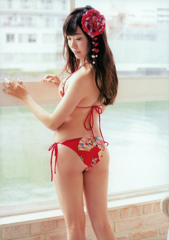 渡辺美優紀 卒業を惜しみたくなる水着&下着姿グラビア 画像47枚 9