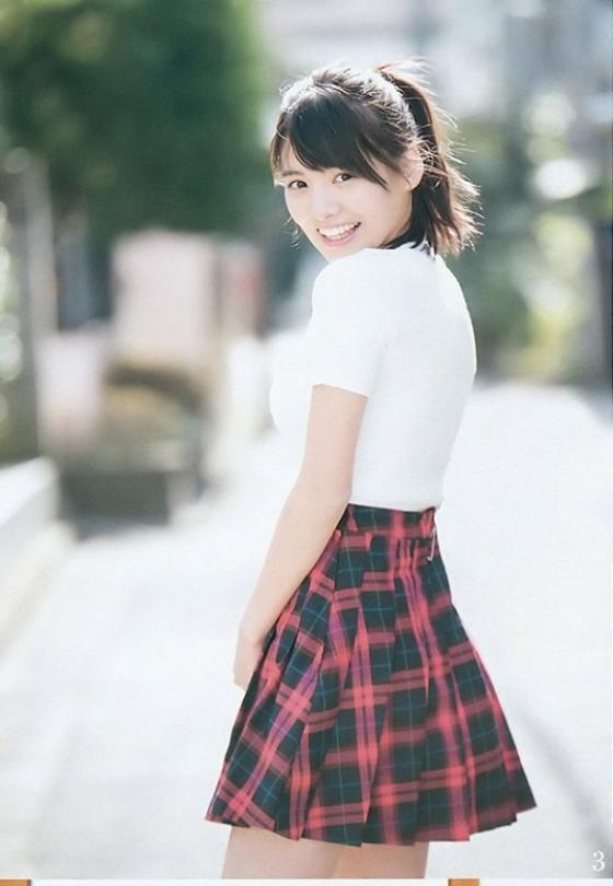 松永有紗 暗殺教室美少女の週プレ水着グラビア 画像26枚 15