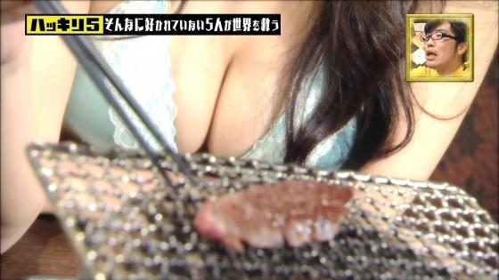 佐藤夢 ハッキリ5のDカップ谷間強調キャプ 画像30枚 24