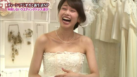 加藤綾子 Dカップ谷間をウェディングドレスで披露したキャプ 画像30枚 20