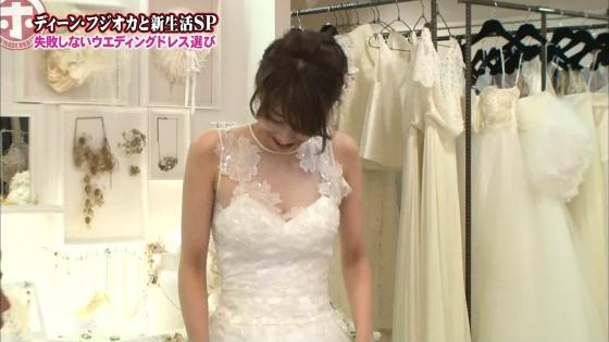 加藤綾子 Dカップ谷間をウェディングドレスで披露したキャプ 画像30枚 22