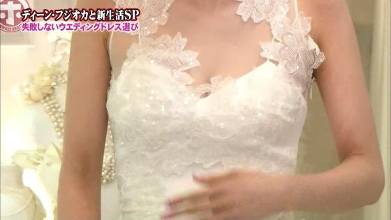加藤綾子 Dカップ谷間をウェディングドレスで披露したキャプ 画像30枚 26