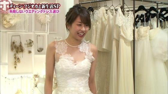 加藤綾子 Dカップ谷間をウェディングドレスで披露したキャプ 画像30枚 28