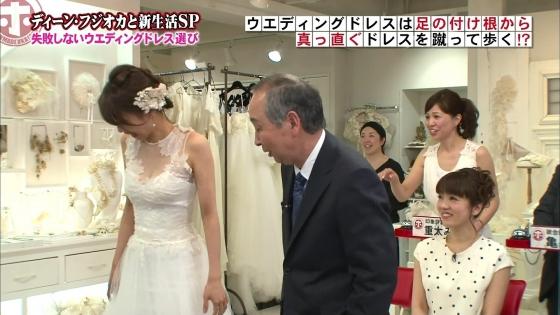 加藤綾子 Dカップ谷間をウェディングドレスで披露したキャプ 画像30枚 30