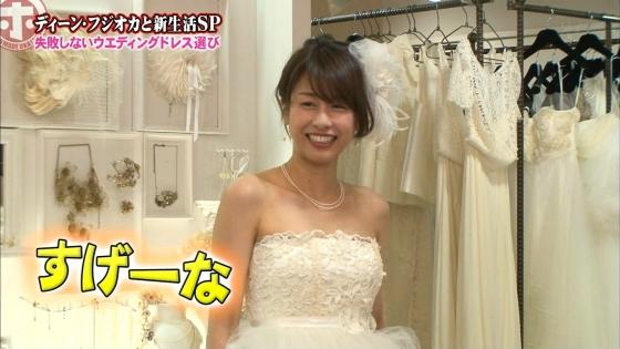 加藤綾子 Dカップ谷間をウェディングドレスで披露したキャプ 画像30枚 9