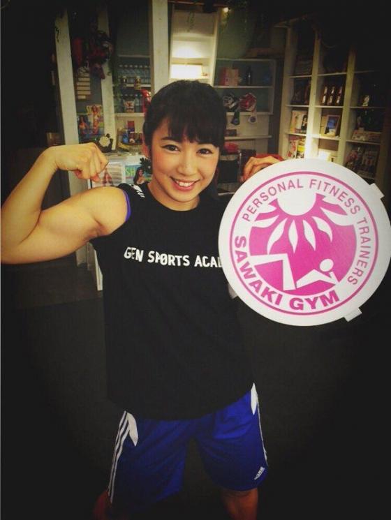 才木玲佳 筋肉アイドル兼女子プロレスラーのBカップおっぱい 画像11枚 5