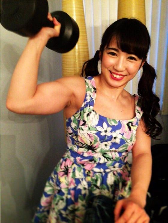 才木玲佳 筋肉アイドル兼女子プロレスラーのBカップおっぱい 画像11枚 6