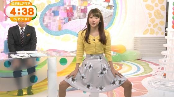 岡副麻希 黒い桐谷美玲めざましテレビのパンチラ寸前大開脚キャプ 画像20枚 1