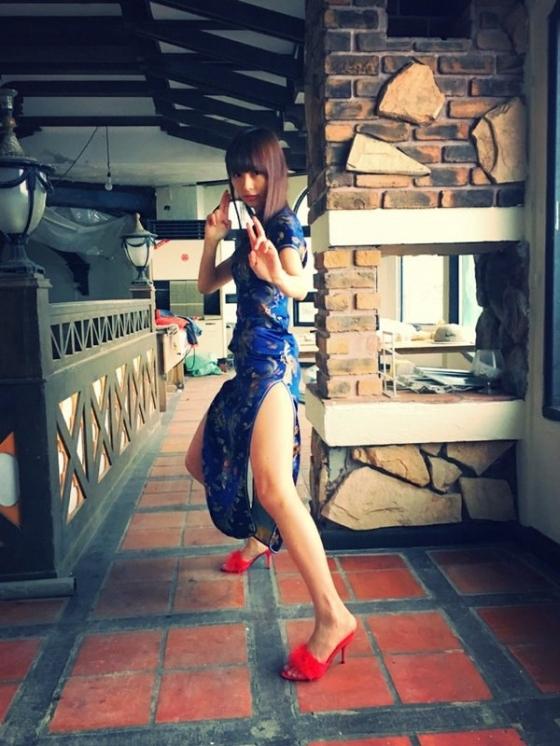 内田理央 ヤングジャンプのチャイナ服美脚&Cカップ水着姿 画像33枚 12