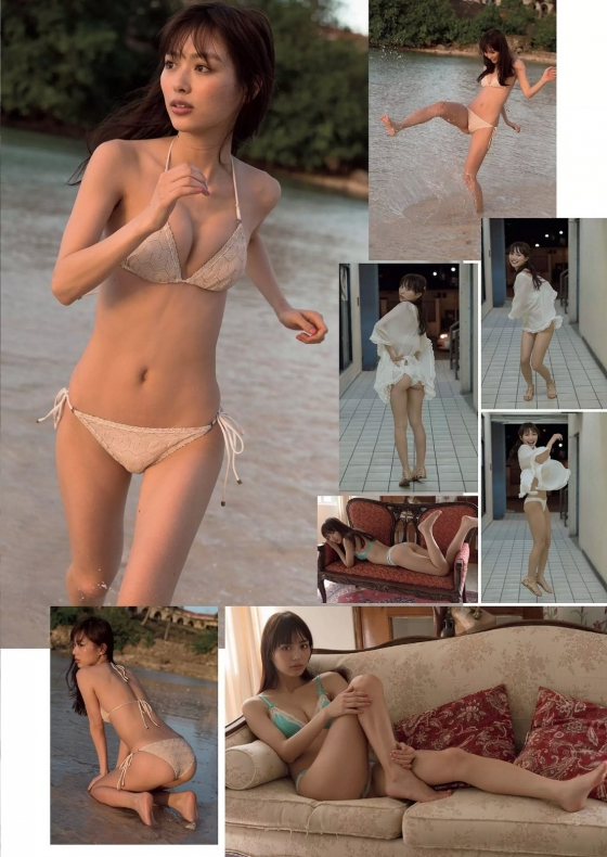 内田理央 ヤングジャンプのチャイナ服美脚&Cカップ水着姿 画像33枚 23