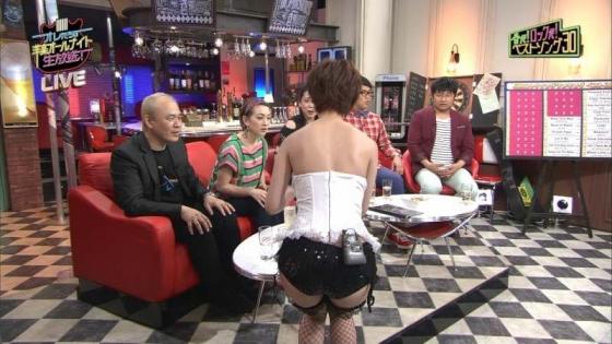 夏目花実 変態下着網タイツ姿のテレビ番組キャプ 画像20枚 10