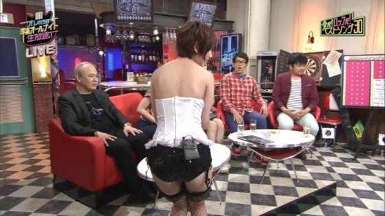 夏目花実 変態下着網タイツ姿のテレビ番組キャプ 画像20枚 11