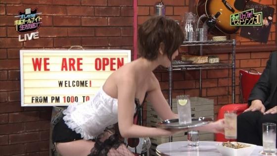 夏目花実 変態下着網タイツ姿のテレビ番組キャプ 画像20枚 12