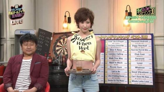 夏目花実 変態下着網タイツ姿のテレビ番組キャプ 画像20枚 14