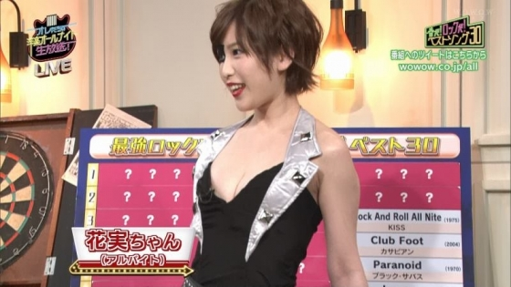 夏目花実 変態下着網タイツ姿のテレビ番組キャプ 画像20枚 2