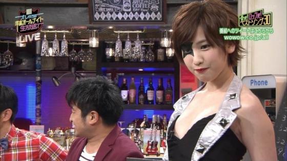 夏目花実 変態下着網タイツ姿のテレビ番組キャプ 画像20枚 6