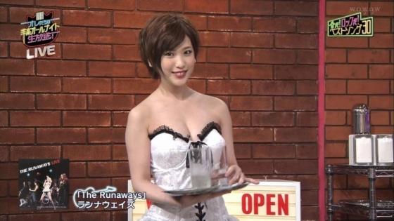 夏目花実 変態下着網タイツ姿のテレビ番組キャプ 画像20枚 7