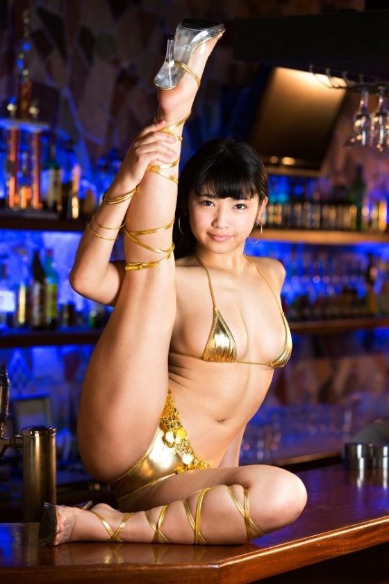 永井里菜 純粋乙女のEカップ谷間と巨尻食い込みキャプ 画像92枚 15