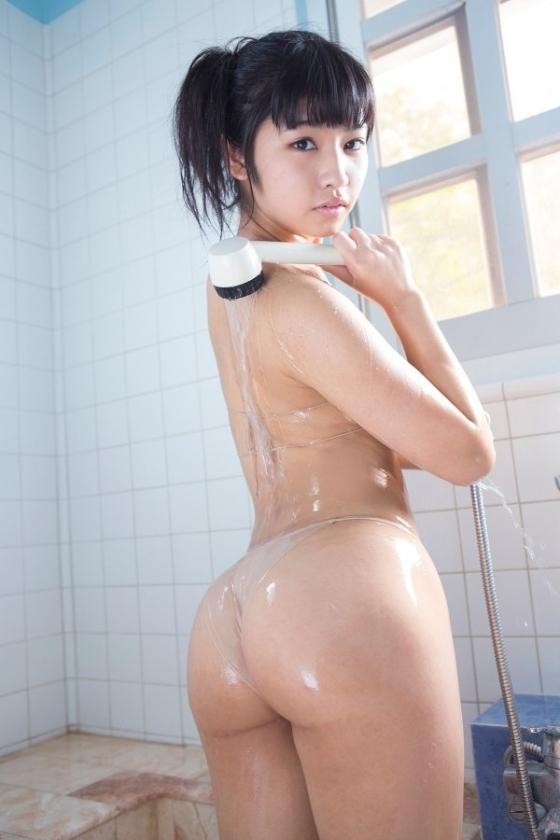 永井里菜 純粋乙女のEカップ谷間と巨尻食い込みキャプ 画像92枚 4