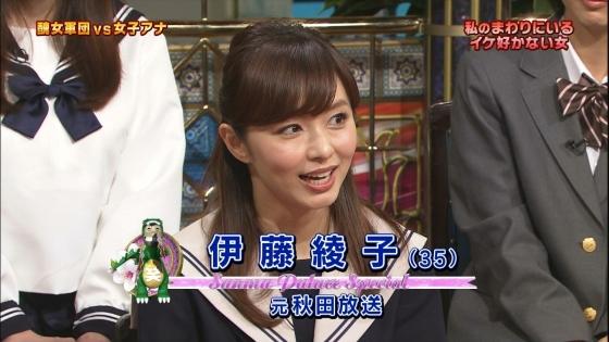 伊藤綾子 さんま御殿のセーラー服女子校生コスプレキャプ 画像25枚 2