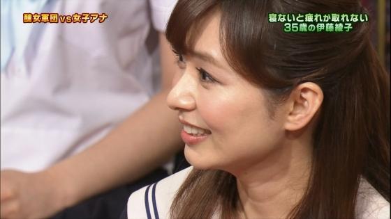 伊藤綾子 さんま御殿のセーラー服女子校生コスプレキャプ 画像25枚 8
